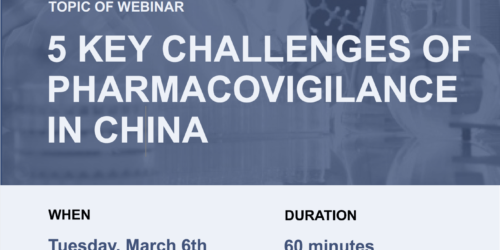 The webinar presenting changes in PV practice after China joined ICH